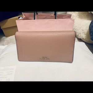 Dusty pink medium  wallet